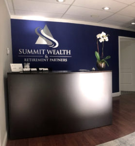 Foyer at Summit Wealth & Retirement Partners