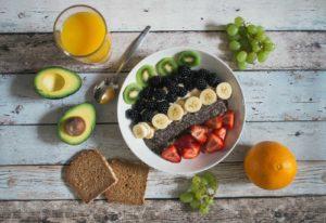healthy food representing healthy financial planning