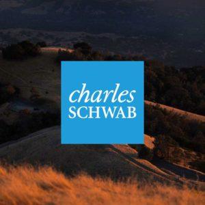 charles schwab logo over mount diablo in danville, ca