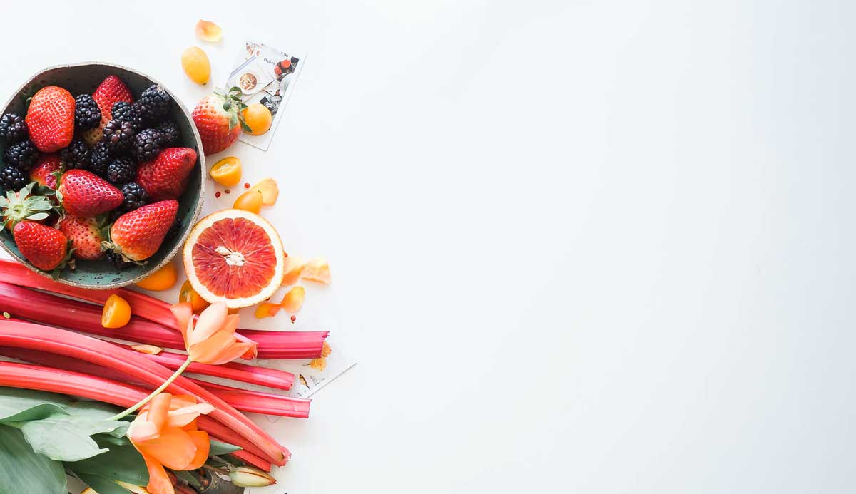 fruits and vegetables representing healthy finances